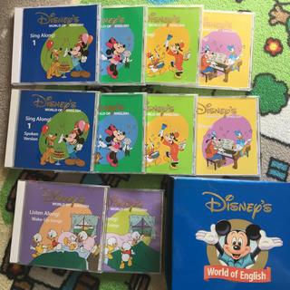 ディズニー(Disney)のシングアロング CD 10枚セット(キッズ/ファミリー)