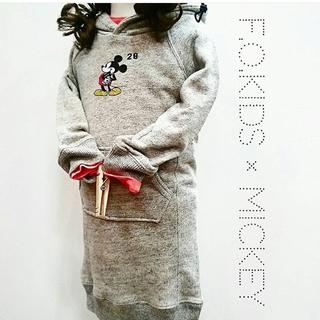 エフオーキッズ(F.O.KIDS)ののん様専用★F.o.kids ミッキーワンピース120(ワンピース)