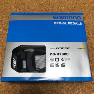 SHIMANO - PD-R7000 105 SPD-SL ビンディング ペダルセット
