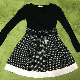 レッセパッセ(LAISSE PASSE)のレッセパッセ リバーシブルスカート♡(ひざ丈スカート)