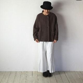 ネストローブ(nest Robe)の試着のみです✴cheer札幌 浅草 圧縮ウールジャケット(ノーカラージャケット)