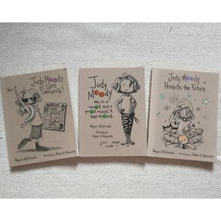洋書 「 Judy Moody 」シリーズ 3冊セット(洋書)