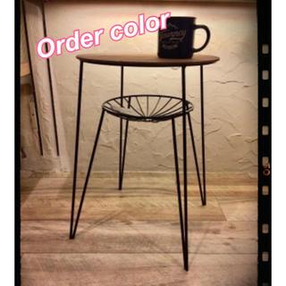 オーダーカラー/   コーヒーテーブル  サイドテーブル♡...*゜(コーヒーテーブル/サイドテーブル)