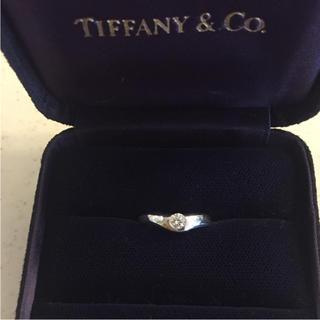 ティファニー(Tiffany & Co.)のあんのん様専用 ティファニー ダイヤモンド プラチナリング(リング(指輪))