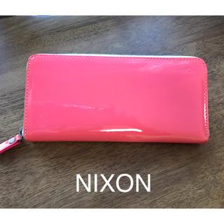 ニクソン(NIXON)のNIXON 長財布 ピンク(財布)