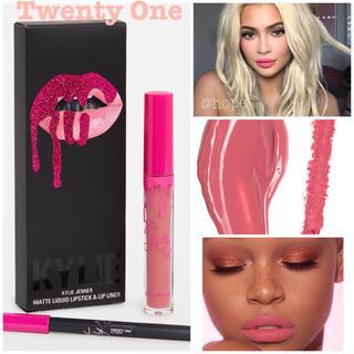 カイリーコスメティックス(Kylie Cosmetics)の【新品】 カイリーコスメティックス リップキット Twenty One 正規品(口紅)