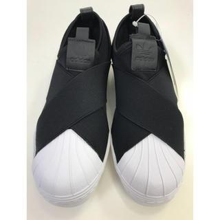 【新品】adidas  アディダス スリッポン スニーカー 23センチ