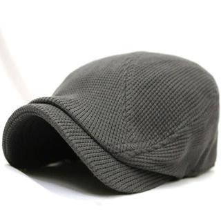 帽子 メンズ  ぼうし ハンチング ビッグワッフル 大きいサイズ グレー セール(キャップ)