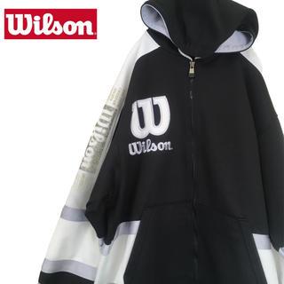 ウィルソン(wilson)の【90's ヒットユニオン製】Wilson / トラックジャケット ジャージ(ジャージ)