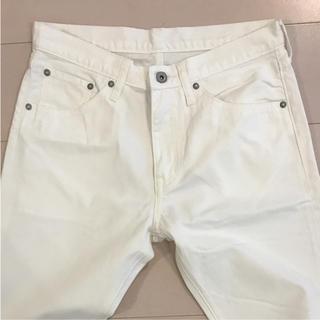 GU - メンズ 白パンツ