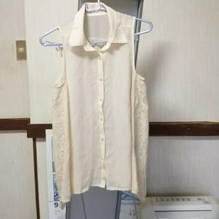 スプレイ(SpRay)のspray ノースリーブ シャツ(シャツ/ブラウス(半袖/袖なし))