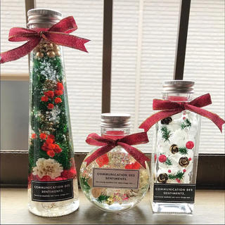 ハーバリウム  クリスマスセット♪(その他)