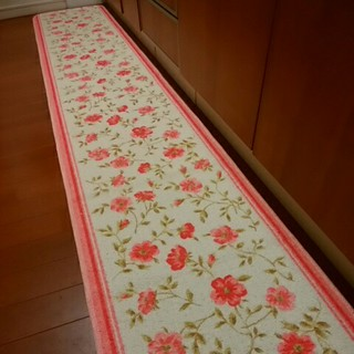 キッチンマット 180 新品 安心の日本製 ロングマット 洗濯可 滑り止め加工 (キッチンマット)