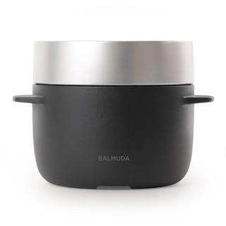 バルミューダ(BALMUDA)のフラワーズ様専用 バルミューダ K03A-BK ザ・ゴハン3合炊き ブラック(炊飯器)