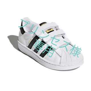 adidas - adidas kids アディダス スーパースター 16cm