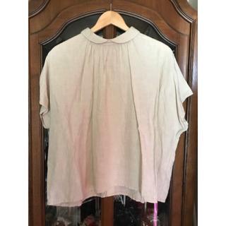 ネストローブ(nest Robe)のリネングランジュウォッシュ2wayブラウス(シャツ/ブラウス(半袖/袖なし))