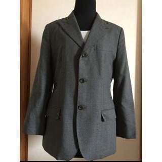 ジェイプレス(J.PRESS)のJ.PRESS レディース パンツスーツ 9号 グレー(スーツ)