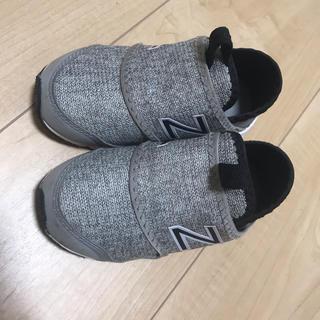 New Balance - ニューバランス スニーカー 14.5センチ スリッポン