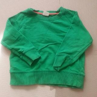 スキップランド(Skip Land)のスキップランド 緑 ロンティ(Tシャツ/カットソー)