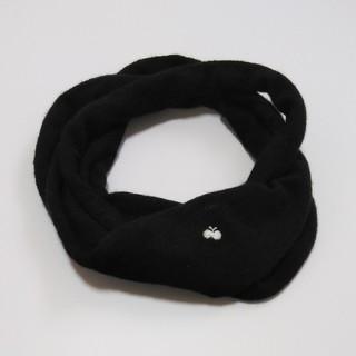 ミナペルホネン(mina perhonen)のミナペルホネン cozy   スヌード ブラック(マフラー/ショール)