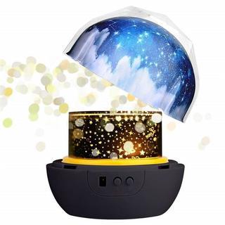 LEDナイトライト プロジェクター 簡易プラネタリウム スポットライト(プロジェクター)