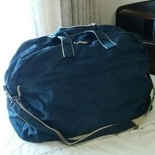 サック(SAC)の♡大容量♡旅行・合宿バッグ ネイビー(旅行用品)