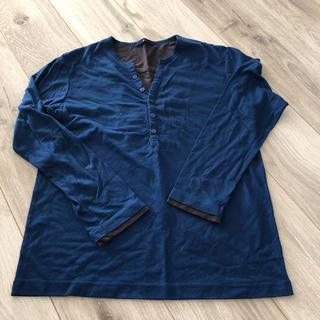 ジーユー(GU)のメンズロンT Sサイズ(Tシャツ/カットソー(七分/長袖))