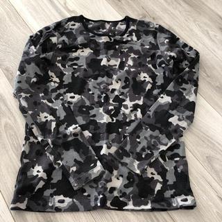 ジーユー(GU)のメンズ ロンT Mサイズ(Tシャツ/カットソー(七分/長袖))