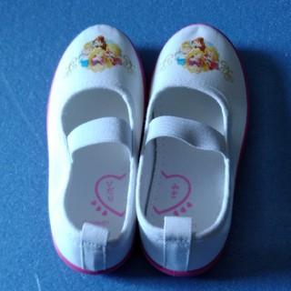 ディズニー(Disney)の新品 16㎝ ディズニー プリンセス 上履き(スクールシューズ/上履き)
