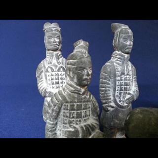 中国 年代物 骨董 美術 置物 5体セット(その他)