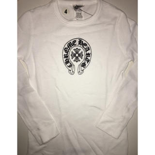 クロムハーツ(Chrome Hearts)のCHROME HEARTS クロムハーツ ロンT 4 キッズ 新品 本物(Tシャツ/カットソー)