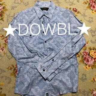 ダブル(DOWBL)の★DOWBL★ ペイズリー柄 長袖シャツ(シャツ)