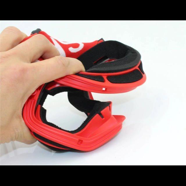 【黒色】スキー スノボ ゴーグル UV400 フレームレス スポーツ/アウトドアのスノーボード(ウエア/装備)の商品写真