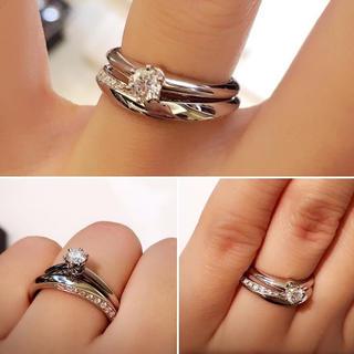 ニワカ(俄)の俄  NIWAKA  マリッジリング  凛(リング(指輪))