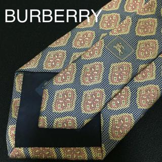 BURBERRY - BURBERRY バーバリー シルクネクタイ