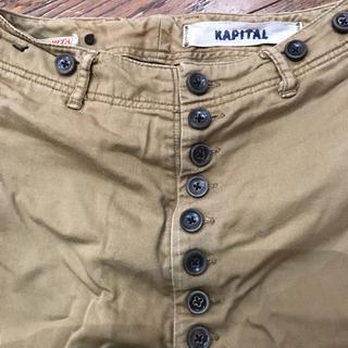 キャピタル(KAPITAL)の(稀少)KAPITAL キッズ チノピエロパンツ(パンツ/スパッツ)