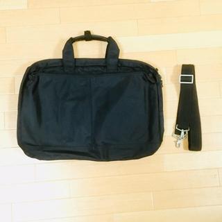 ムジルシリョウヒン(MUJI (無印良品))の無印良品 MUJI ビジネスバッグ 2WAY 黒 ショルダー(ビジネスバッグ)