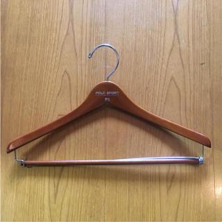 ラルフローレン(Ralph Lauren)のレア非売品!ラルフローレンPOLOSPORT木製ハンガー(その他)