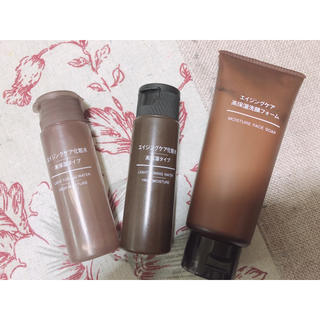 ムジルシリョウヒン(MUJI (無印良品))の無印良品 トラベルセット 洗顔(化粧水 / ローション)