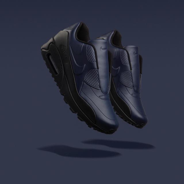 With NikeLab X sacai Nike laboratory X Sakai WMNS AIR MAX 90 SP SACAI women Air Max 90 Espy VOLTVOLT OBSIDIAN bolt 804,550 774 black tag