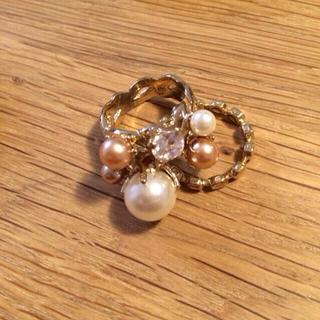 アクアガール(aquagirl)の指輪2本セット ✨SALE✨(リング(指輪))