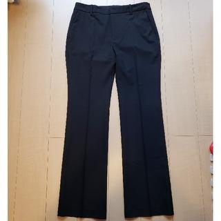 ザラ(ZARA)の【新品】ZARA きれいめ パンツ ブラック 42(カジュアルパンツ)