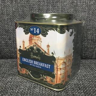 ハロッズ★No.14イングリッシュ ブレックファスト★ティーバッグ缶