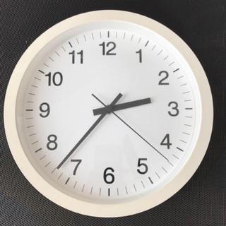 ムジルシリョウヒン(MUJI (無印良品))のほぼ新品 ウォールクロック 無印良品(掛時計/柱時計)