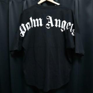 パームエンジェルス バックロゴプリントTシャツ サイズL ブラック