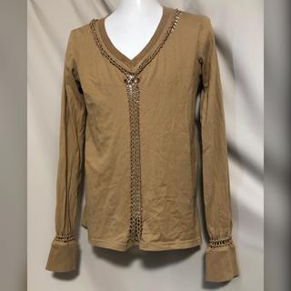ナンバーナイン(NUMBER (N)INE)のNUMBER (N)INE ナンバーナイン 編み込みカットソー Tシャツ 2 M(Tシャツ/カットソー(七分/長袖))