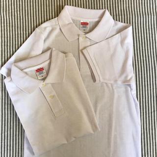 【新品】2点set ポロシャツ ホワイト (ポロシャツ)