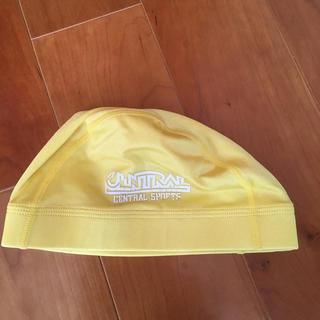 セントラル 水泳帽 黄色(マリン/スイミング)