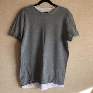ザラ(ZARA)のZARAMAN 重ね着風Tシャツ(Tシャツ(半袖/袖なし))