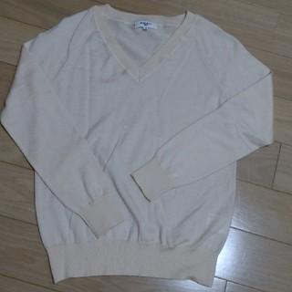 エヌナチュラルビューティーベーシック(N.Natural beauty basic)のニット セーター VネックM(ニット/セーター)